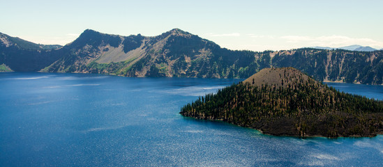 The Vivid Blues of Crater Lake