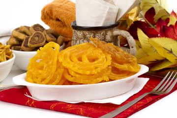 JALEBI SWEET FOOD