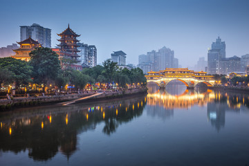 Chengdu, China On the Jin River