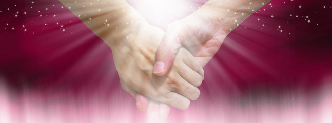 Holding hands- Facebook cover