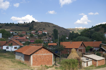 Croatian village, Janjevo, Kosovo