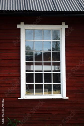 canvas print picture sprossenfenster