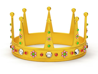Crown isolated