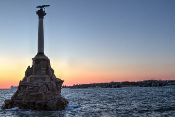 Sevastopol Monument to the scuttled ships