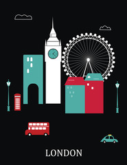 London England.Vector