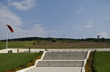 The Jashari family tombs, Prekaz, Kosovo