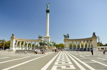 Piazza degli Eroi, Budapest. 2