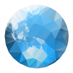 aqua crystal earth