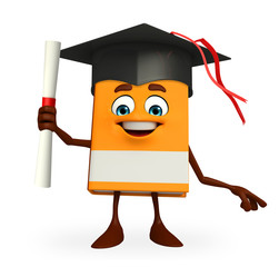 Book Character with degree