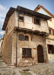 Medieval house in Cividale del Friuli