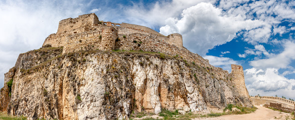 Morella Castle in Spain Panorama