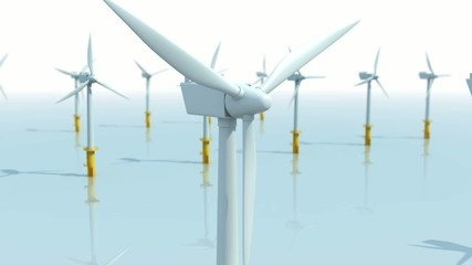 Wind Farm Animation