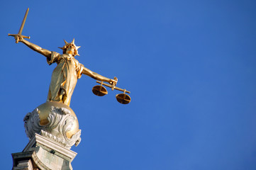 Scales of Justice ( Lady of Justice)