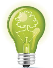 green eco bulb