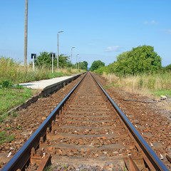 Bahngleis