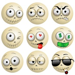 Voodoo Macumba Smileys Emotions Icons
