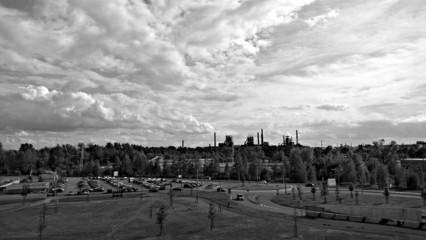 Silhouette of Ostrava