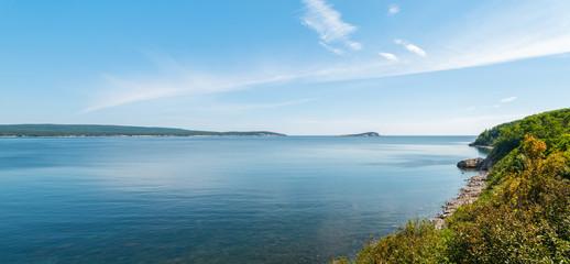 Panorama of beautiful scenic view