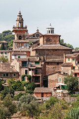 Nice foreshortening of a spanish picturesque town