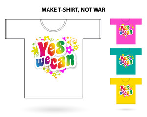 Yes you can / T-shirt