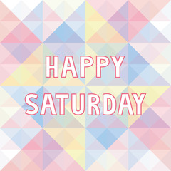 Happy Saturday background3