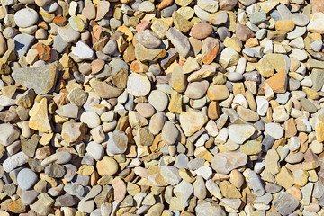 River pebble in a background photo