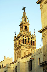La Giralda, tower of the cathedral of Seville