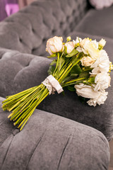 bouquet of beautiful wedding flowers