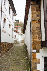 Narrow street of a maritime village