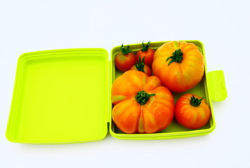 boite plastique pour conservation des légumes