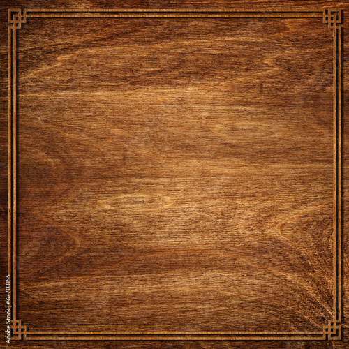 Tuinposter Hout Oriental wooden texture background