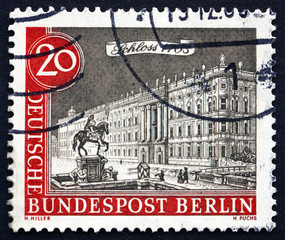 Postage stamp Germany 1962 Berlin Palace, 1703