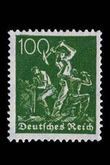 Briefmarke_Deutsches Reich_Alt