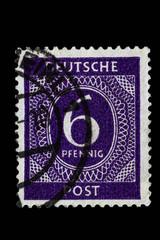 Briefmarke_gestempelt_Deutschland