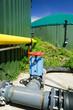 Biogasanlage, Absperrventil
