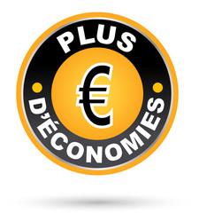 """Label """"plus d'économie"""""""