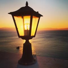 Sun illuminated lantern