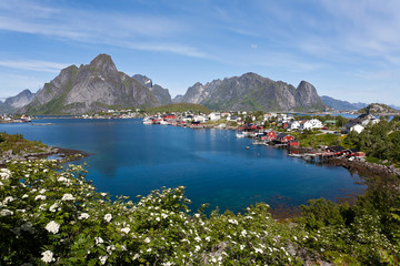 Lofoten island, Norway.