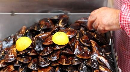 Istanbul Street Food: Raw Mussels