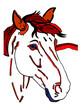 cavallo stilizzato
