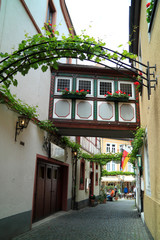 City Bernkastel Kues in Germany