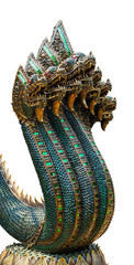 King of Naga statue with seven  heads.