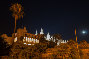 Real Almudaina Palace and Cathedral in Palma de Mallorca, Balear