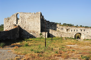 The citadel and fortress of Kala at Berat