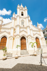 The famous church of El Angel in Old Havana