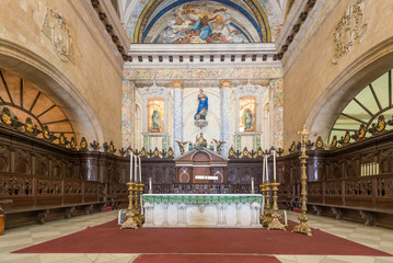 Altar at the Cathedral of Havana