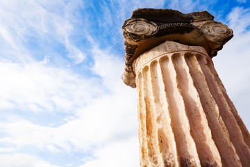 The Greek column