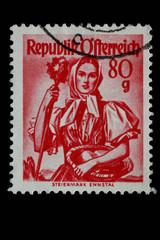 Alte Briefmarke_Österreich_3