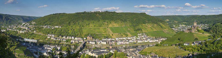 Behind the scene-Panorama Cochem