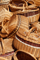 handmade wicker basket